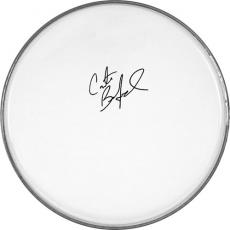 Dave Matthews Band Carter Beauford Autographed Facsimile Signed Drumhead