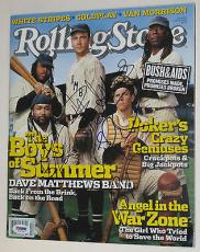 DAVE MATTHEWS BAND DMB Group Signed ROLLING STONE MAGAZINE PSA DNA