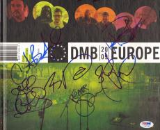 "DAVE MATTHEWS Band Signed Autographed By 7 ""DMB 2009 Europe"" Book PSA/DNA Y07550"