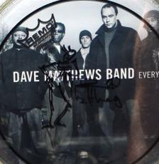 Dave Matthews Band Signed Drawing on Drum Head AUTOGRAPHED PSA/DNA