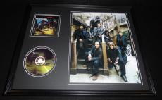 Dave Matthews Band Signed Framed 16x20 CD & Photo Display