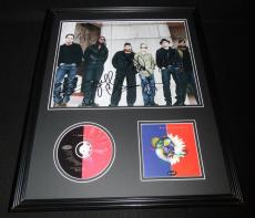 Dave Matthews Band Signed Framed 16x20 Crash CD & Photo Display