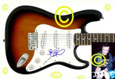 Dave Matthews Band Stefan Signed Guitar & Proof PSA/DNA cert