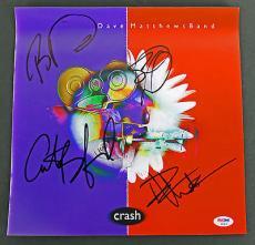 Dave Matthews (Dave, Lessard, Tinsley & Beauford) Signed Album Flat PSA #AB04541