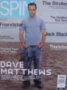Dave Matthews SEXY Signed NO LABEL SPIN Magazine JSA