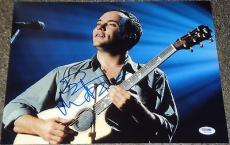 Dave Matthews Signed 11x14 Photo Authentic Autograph Psa/dna W55736 Coa