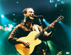 Dave Matthews Signed 16X20 Photo Autographed PSA/DNA #U70537