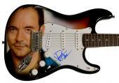 Dave Matthews Signed Airbrushed Guitar Psa/Dna & Video Proof AFTAL