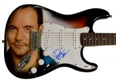 Dave Matthews Signed Airbrushed Guitar Psa/Dna & Video Proof