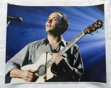 Dave Matthews Signed Authentic Autographed 16x20 Photo JSA COA #F04349