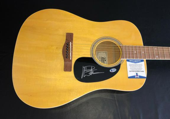 Dave Matthews Signed Auto Acoustic Rouge Full Size Guitar Beckett Bas Coa Dmb