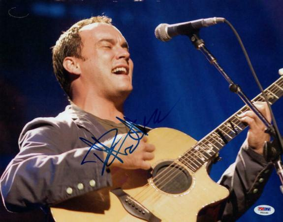 Dave Matthews Signed Autograph 11x14 Photo - Legend, Band, Crash, Everyday, Psa