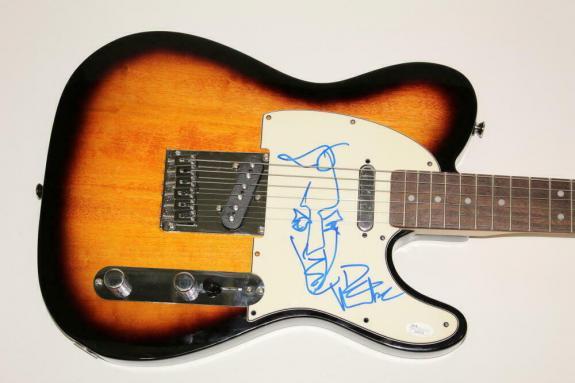 Dave Matthews Signed Autograph Fender Electric Telecaster Guitar W/ Sketch, Jsa