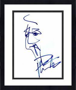 DAVE MATTHEWS SIGNED AUTOGRAPH HAND DRAWN 8x10 ORIGINAL ART SKETCH - RARE PSA