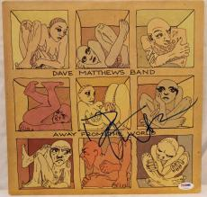 "DAVE MATTHEWS Signed Autographed ""Away From The World"" Album LP PSA/DNA #U79646"