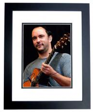 Dave Matthews Signed - Autographed Dave Matthews Band Concert 11x14 Photo DMB BLACK CUSTOM FRAME