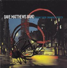 Dave Matthews Signed CD Cover w/COA Band Before These Crowded Streets