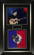 Dave Matthews Signed Crash Album Flat Framed Display