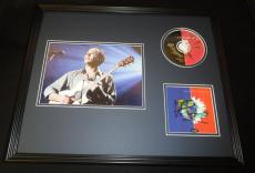 Dave Matthews Signed Framed 16x20 Crash CD & Photo Display