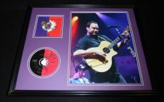 Dave Matthews Signed Framed 16x20 Crash CD & Photo Display C