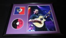 Dave Matthews Signed Framed 16x20 Crash CD & Photo Display D