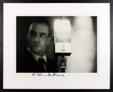 Dave Matthews Signed Vintage B&W Promo 16x20 Framed Photo BAS #A86796