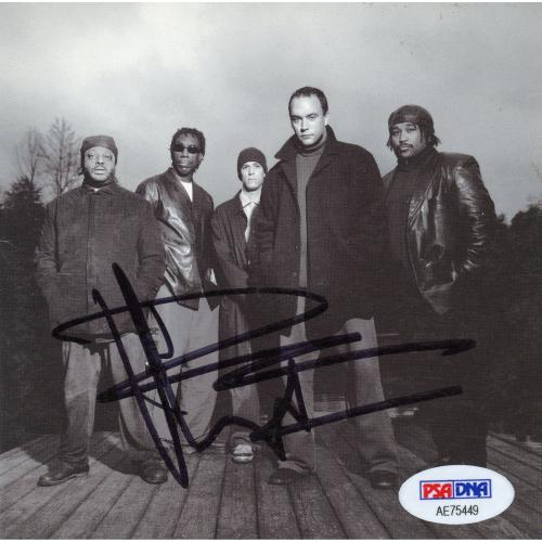 Dave Matthews The Dave Matthews Band Autographed Everyday CD Album - PSA