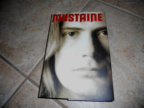 Dave Mustain Magadeth Signed Autographed HB Book Hard Rock Heavy Metal