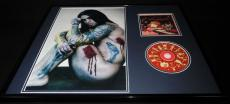 Dave Navarro Signed Framed Red Hot Chili Peppers 16x20 CD & Photo Display AW B