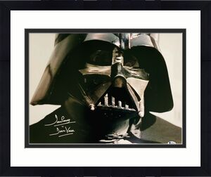 Dave Prowse Authentic Signed Star Wars Darth Vader 16x20 Photo Beckett BAS 31