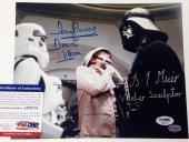 "DAVE PROWSE & BRIAN MUIR Dual Signed ""DARTH VADER"" Star Wars 8x10 photo PSA COA"