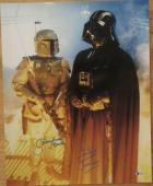 Dave Prowse & Jeremy Bulloch Star Wars Signed 16X20 Photo - Beckett BAS