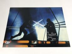 Dave Prowse Signed 11x14 Photo Autograph Authentic Star Wars Darth Vader BAS COA