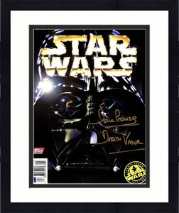 "DAVE PROWSE Signed Autographed ""Darth Vader"" Star Wars Magazine Beckett BAS"