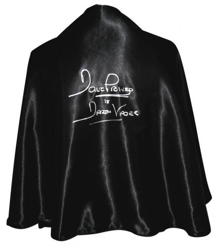 Dave Prowse Signed Darth Vader Full Size Cape
