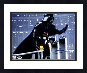 DAVE PROWSE Signed Darth Vader STAR WARS 11x14 Official Pix Photo PSA/DNA V50141