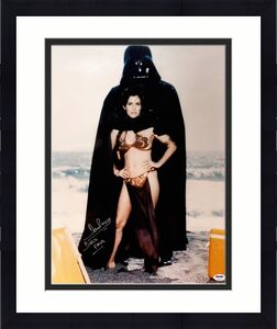 "DAVE PROWSE Signed ""Darth Vader"" STAR WARS 16x20 Photo PSA/DNA #Z21636"