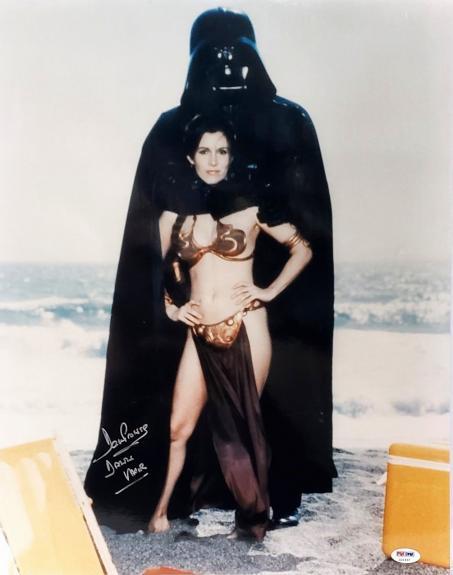 "DAVE PROWSE Signed ""Darth Vader"" STAR WARS 16x20 Photo PSA/DNA #Z21637"