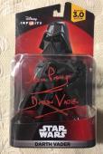 Dave Prowse SIGNED DISNEY Infinity STAR WARS Figure Darth Vader FIGURE JSA COA