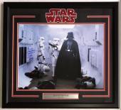 Dave Prowse Signed Framed Star Wars Darth Vader 16x20 Hallway Photo Steiner