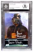 Dave Prowse Signed Slabbed Star Wars Darth Vader Trading Card Oct 09 Beckett BAS
