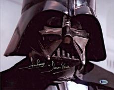 Dave Prowse Signed Star Wars Darth Vader 11x14 Photo - Beckett BAS 2