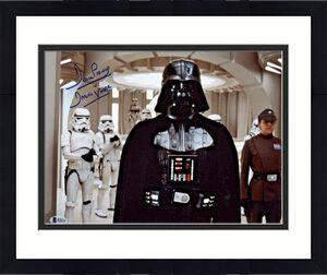 Dave Prowse Signed Star Wars Darth Vader 11x14 Photo Beckett BAS 3