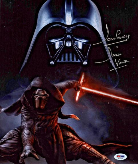 David Dave Prowse Signed Star Wars Darth Vader 11x14 Photo PSA DNA
