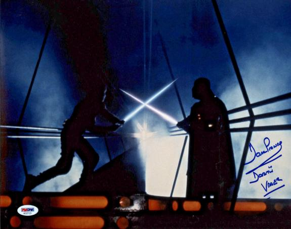 Dave Prowse Signed Star Wars Darth Vader 11x14 Photo - PSA/DNA 5