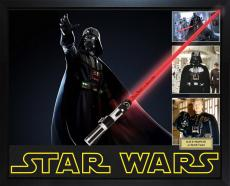Dave Prowse Star Wars Darth Vader Signed Lightsaber With Custom Display Case