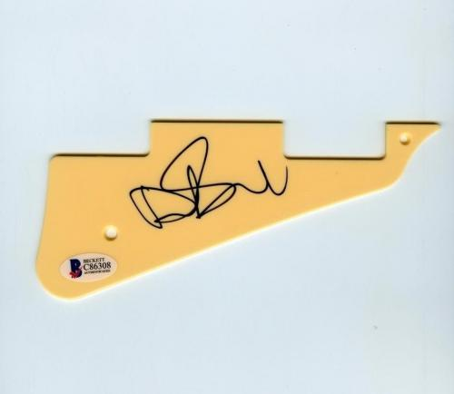 Dave Stewart Eurythmics Autographed Signed Guitar Pickguard Authentic BAS COA