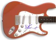 Dave Stewart Signed Guitar & Proof PSA SuperHeavy Jagger Stone A AFTAL