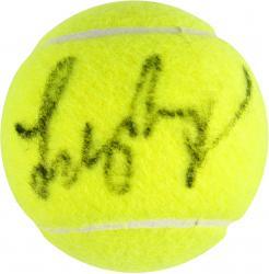 Lindsay Davenport Autographed Tennis Ball