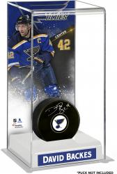 David Backes St. Louis Blues Deluxe Tall Hockey Puck Case